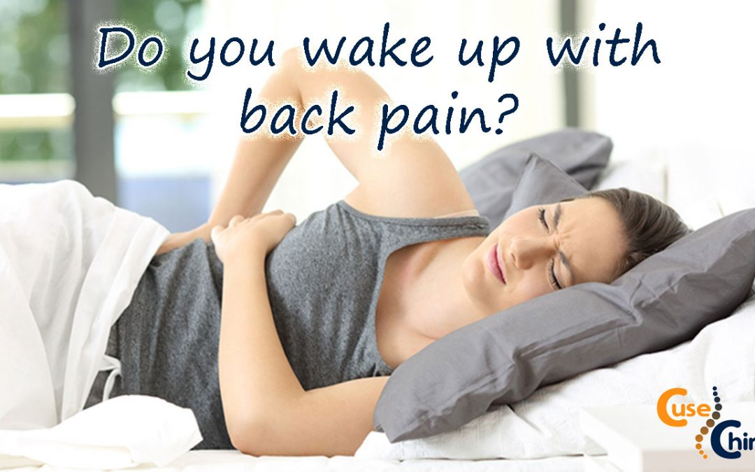 What to do when you suffer from back pain while sleeping
